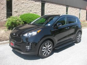 Kia Sportage SUV Running Boards Romik® RZR Side Steps (2017-Present)
