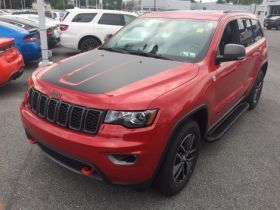 Jeep Grand Cherokee SUV Running Boards Romik® RAL-B Side Steps (2011-Present)